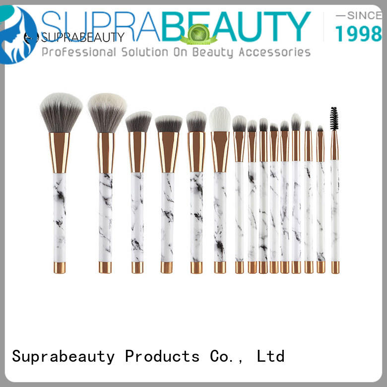 pcs complete makeup brush set with brush belt for eyeshadow