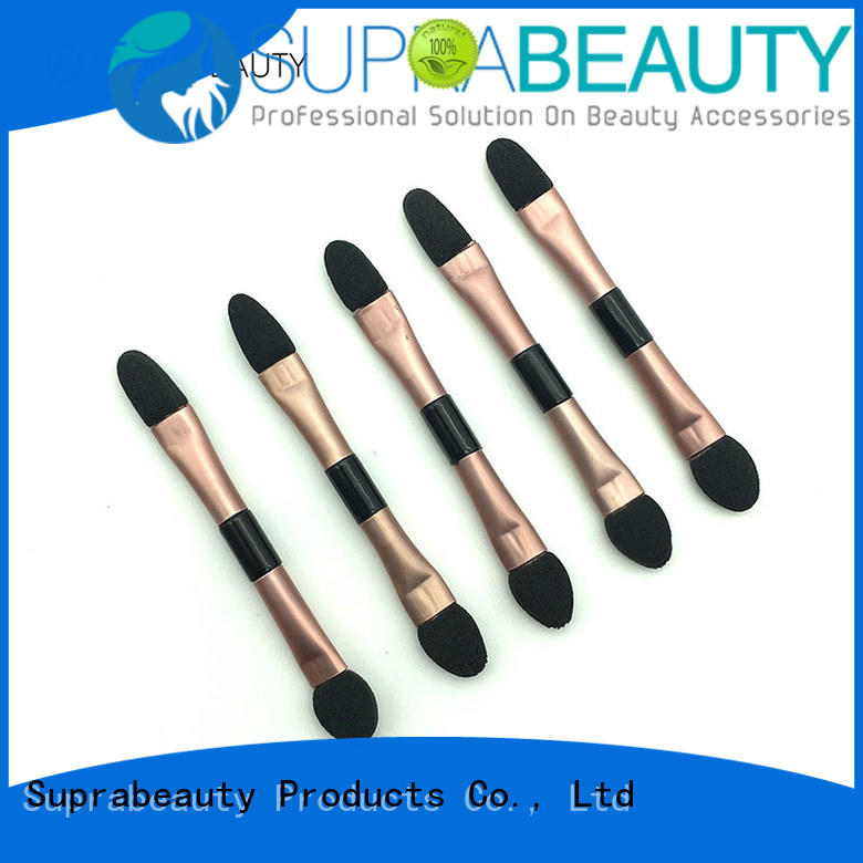 Suprabeauty spd lipstick applicator with bamboo handle for mascara cream