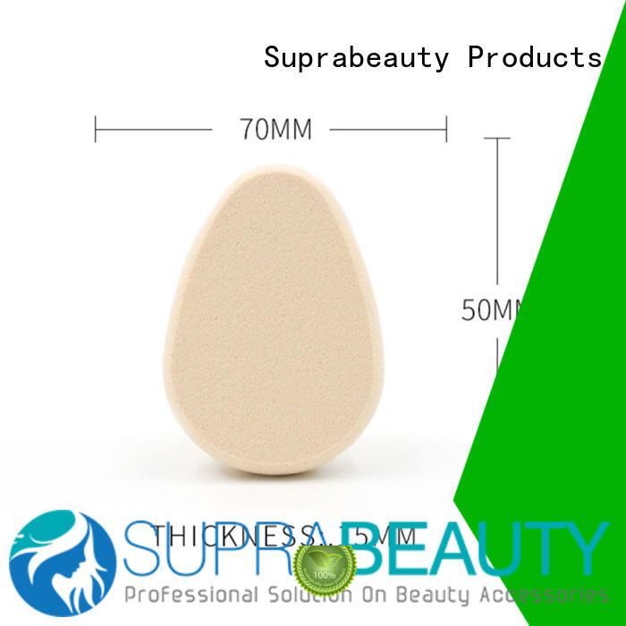 Oval beauty cosmetic sponge latex free SPS1006
