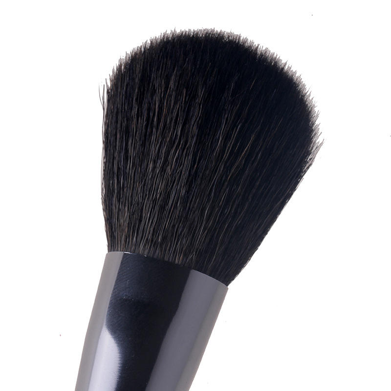 High pick comfortable goat hair mineral cosmetics powder brush-3