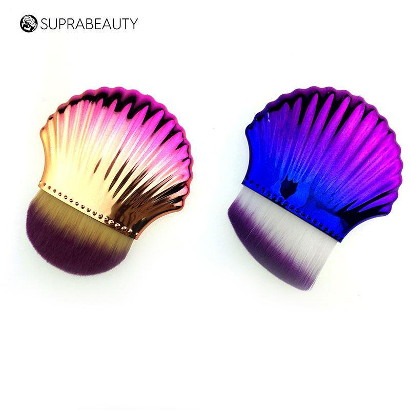 Shell makeup brush Suprabeauty angle brush SPN2001