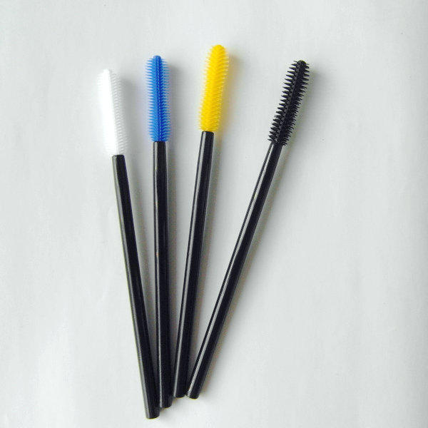 Silicone mascara brush curved mascara head Suprabeauty SPD6003