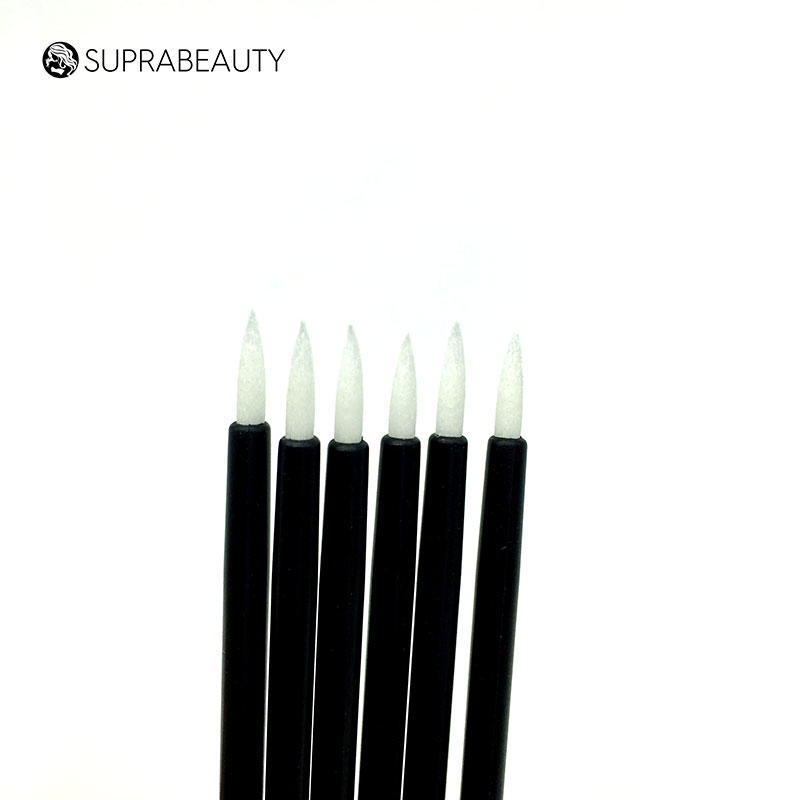 Disposable lip brush white fiber tips Suprabeauty SPD1002