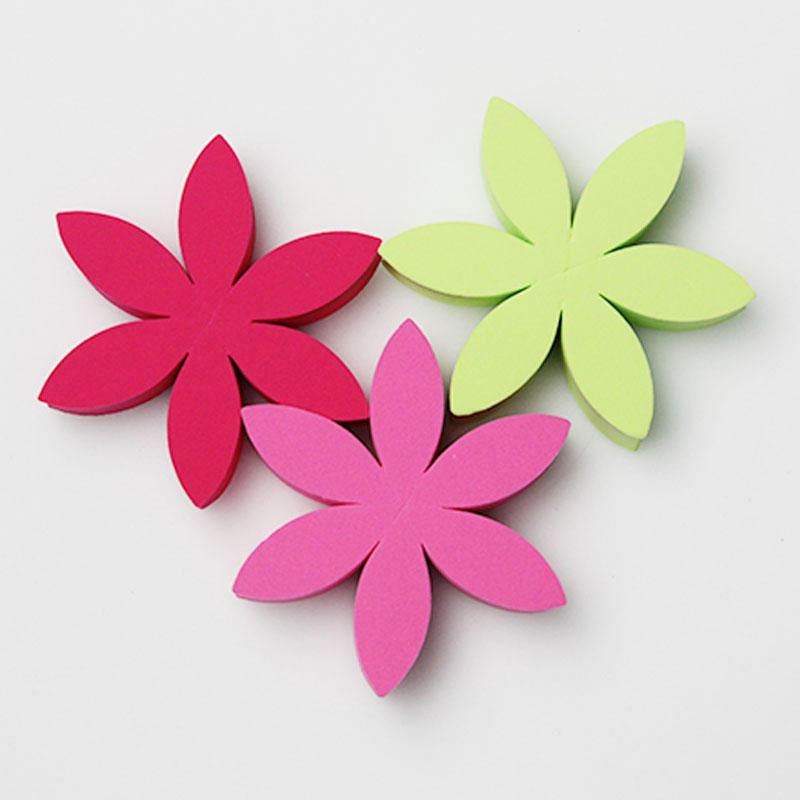 Flower shape beauty blending sponge latex free SPS1005