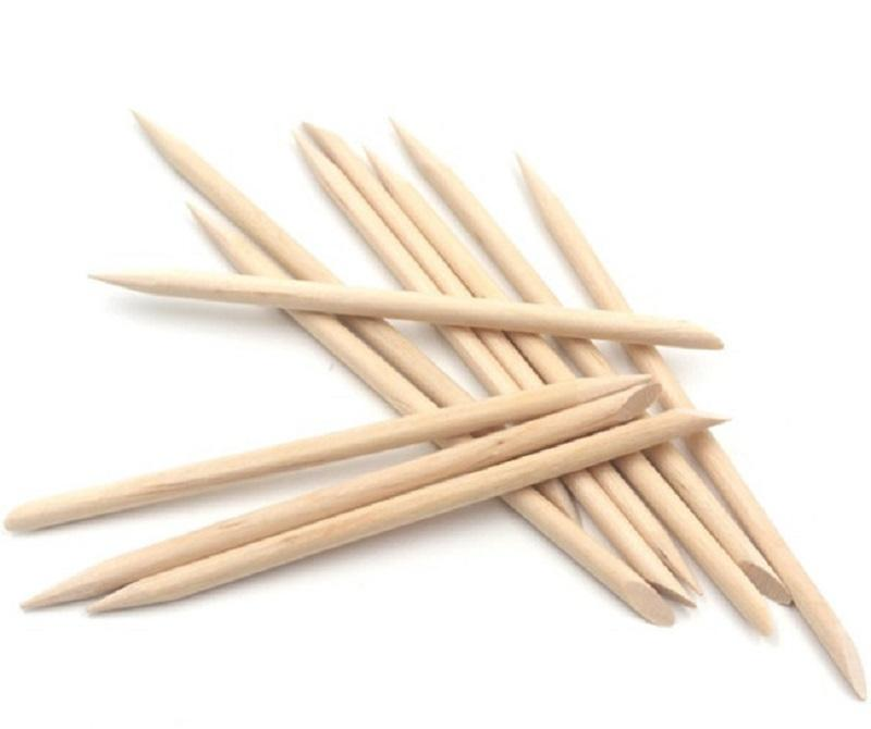best value wooden manicure sticks with good price bulk production