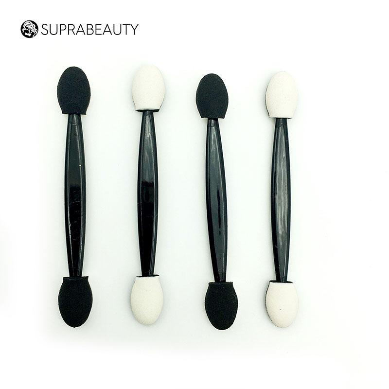 Plastic handle latex sponge makeup eyeshadow applicator SPD2002