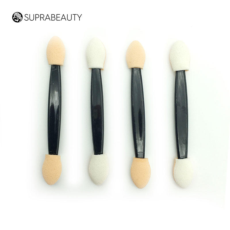 Suprabeauty spd disposable makeup brushes and applicators large tapper head for eyelash extension liquid