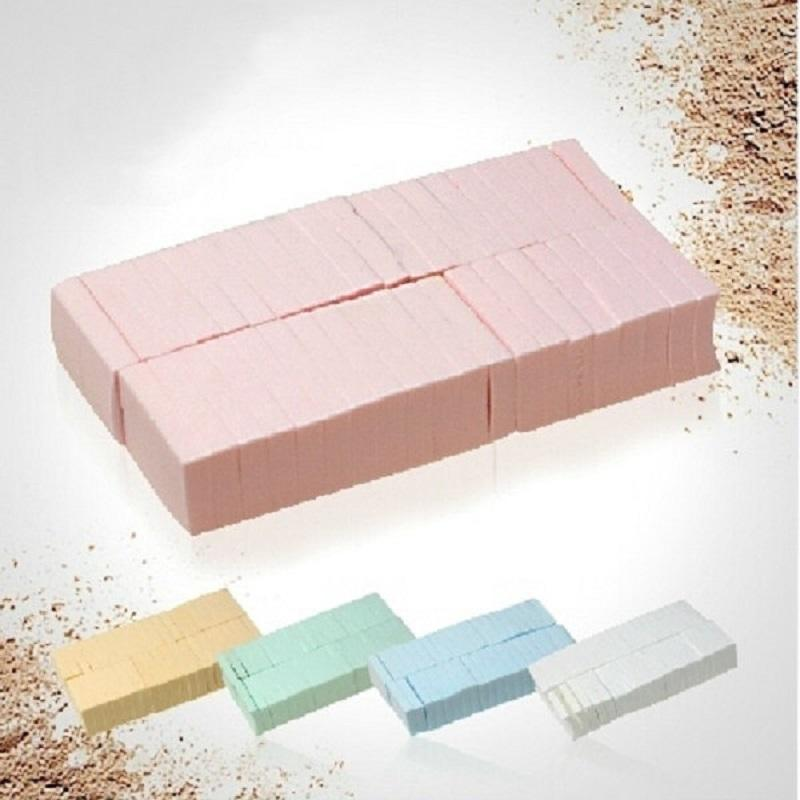 Pink color latex free foundation sponge wedge