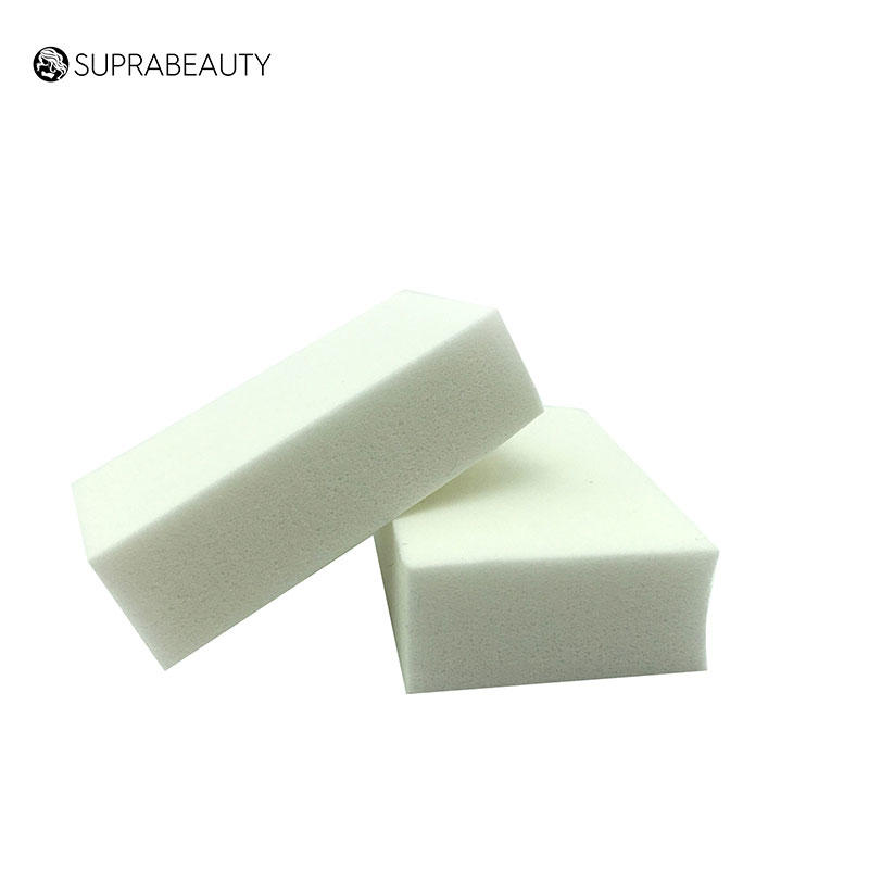 Suprabeauty beauty cosmetic sponge with customized color for mineral dried powder