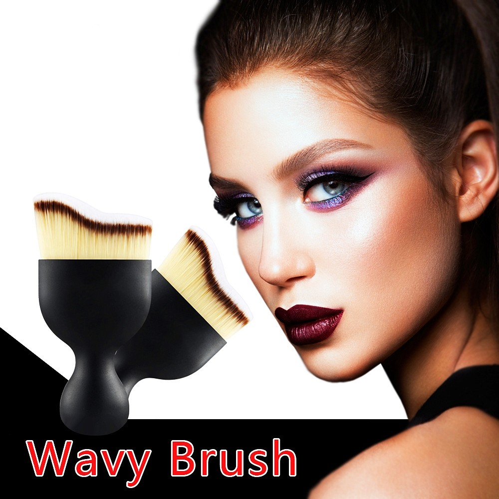 customized powder brush supply for beauty-1