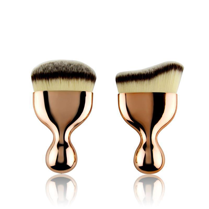customized powder brush supply for beauty-3