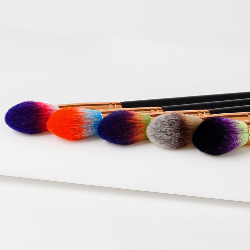 sp different makeup brushes with eco friendly painting for liquid foundation