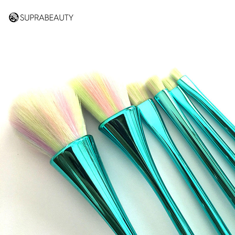 Suprabeauty synthetic unique makeup brush sets with synthetic bristles