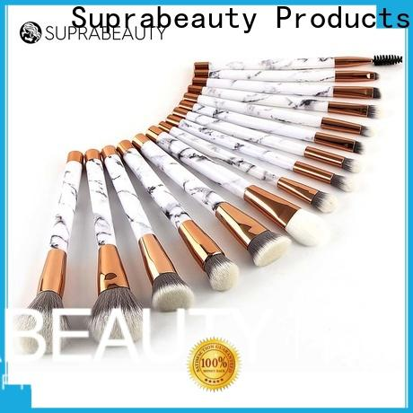 customized best quality makeup brush sets with good price for packaging