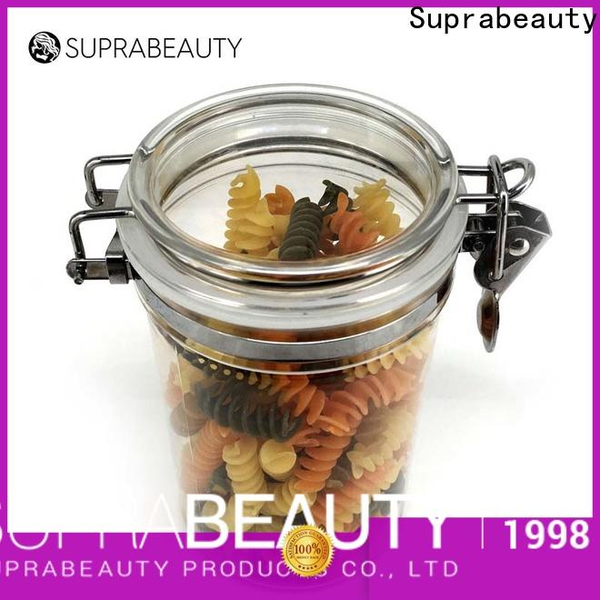 Suprabeauty frosted glass cosmetic bottles directly sale for package