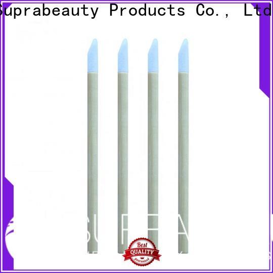 Suprabeauty best value disposable lip brushes factory bulk production