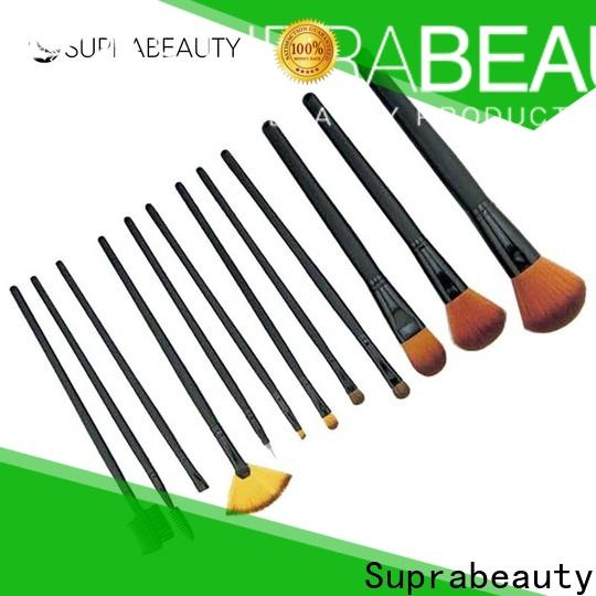 Suprabeauty custom eyeshadow brush set with good price for sale