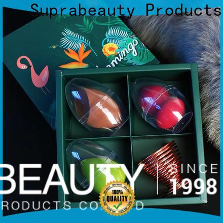 Suprabeauty hot-sale makeup foundation sponge company for promotion