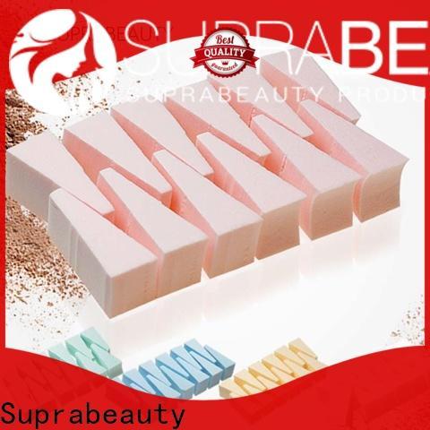 Suprabeauty cheap makeup sponge wedges best manufacturer bulk production