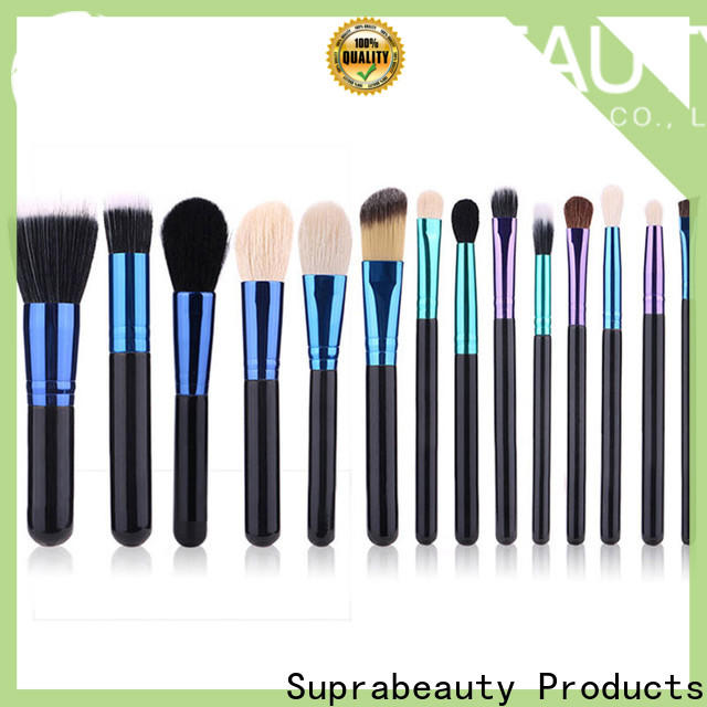 Suprabeauty makeup brush kit with good price for promotion