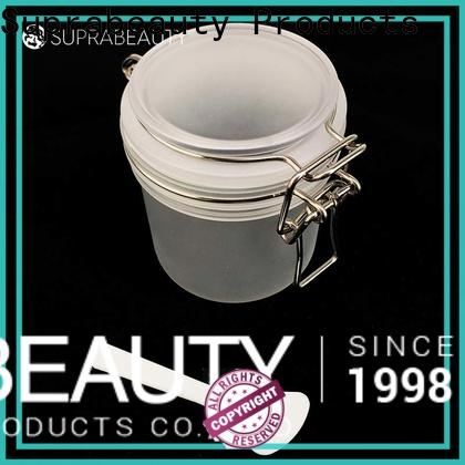 Suprabeauty promotional clear plastic jars with lids factory for packaging