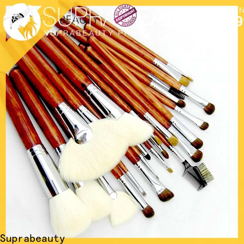 Suprabeauty popular makeup brush sets company bulk production