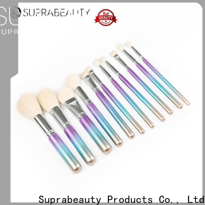 Suprabeauty high quality best quality makeup brush sets wholesale for promotion