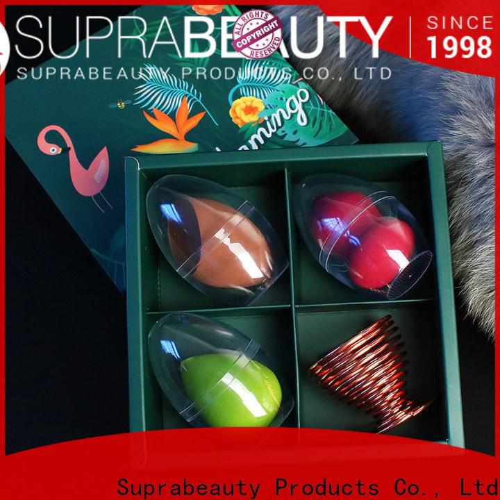 Suprabeauty custom the best makeup sponge company for promotion