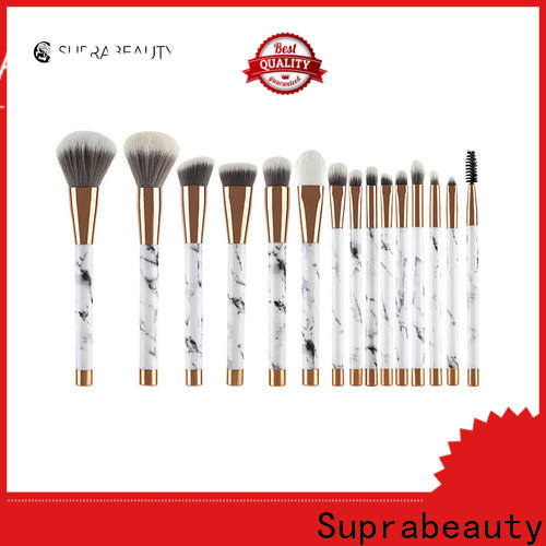Suprabeauty professional best quality makeup brush sets directly sale bulk production