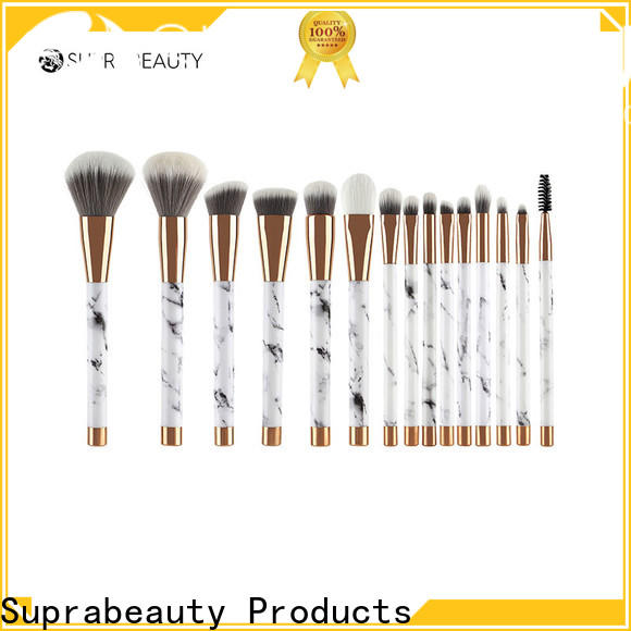 Suprabeauty hot-sale top 10 makeup brush sets factory bulk buy