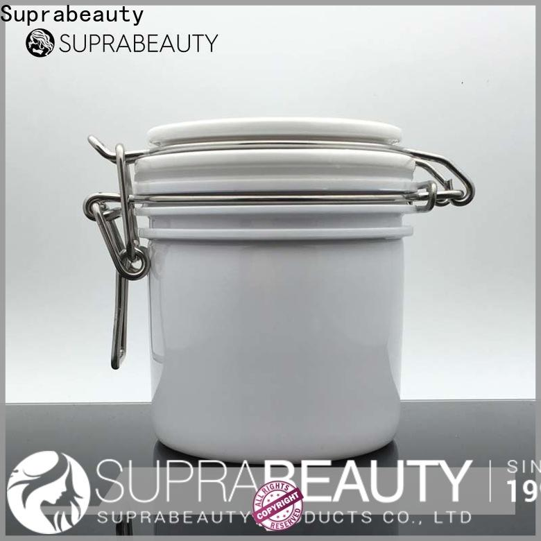 portable cosmetic jars with lids wholesale for package