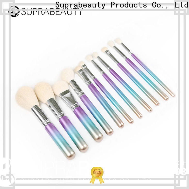 Suprabeauty affordable makeup brush sets from China for promotion