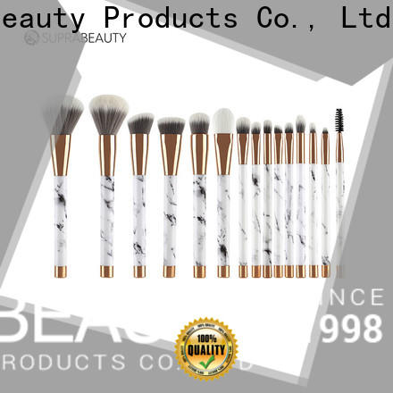 Suprabeauty practical affordable makeup brush sets with good price bulk production