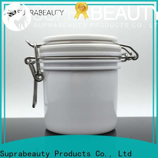 latest plastic cosmetic jars with lids factory direct supply bulk production