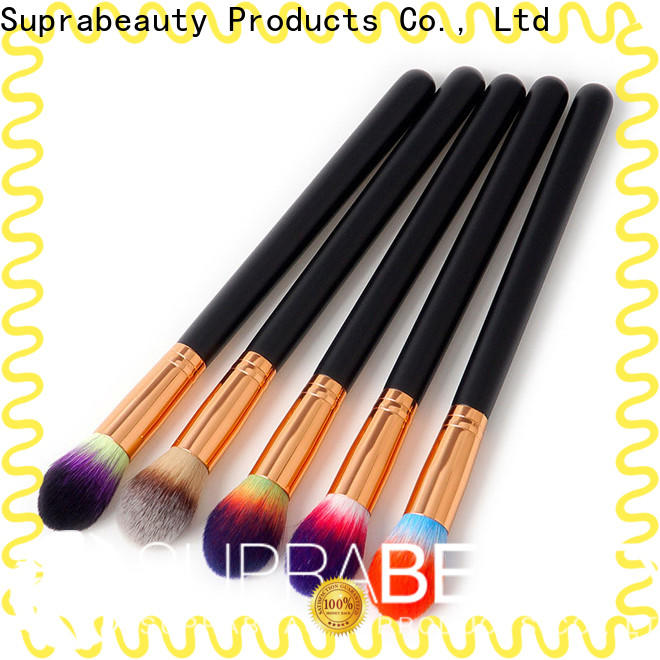 Suprabeauty customized cosmetic brushes with good price bulk buy
