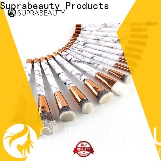 Suprabeauty worldwide complete makeup brush set manufacturer for packaging