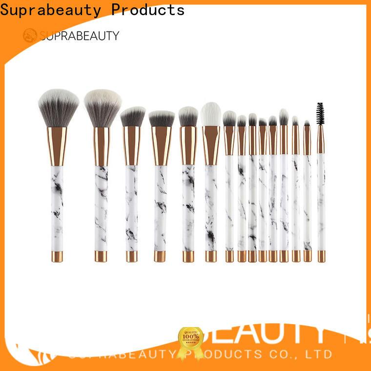 Suprabeauty popular best makeup brush set supplier for promotion