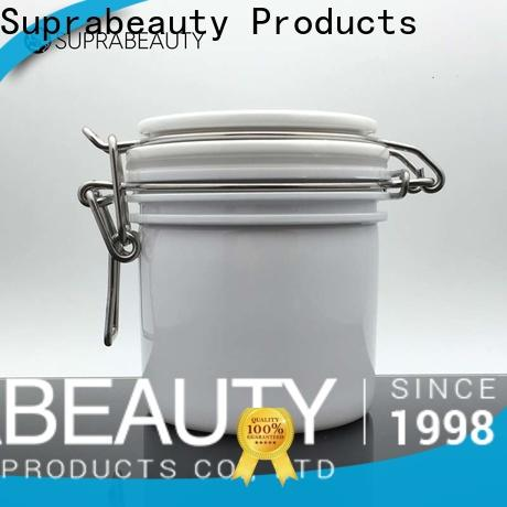 Suprabeauty reliable cosmetic PET jar best supplier for package