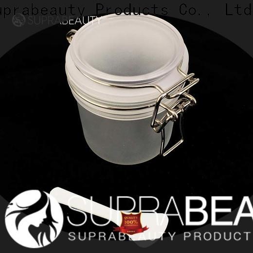 Suprabeauty clear cosmetic jars series bulk buy