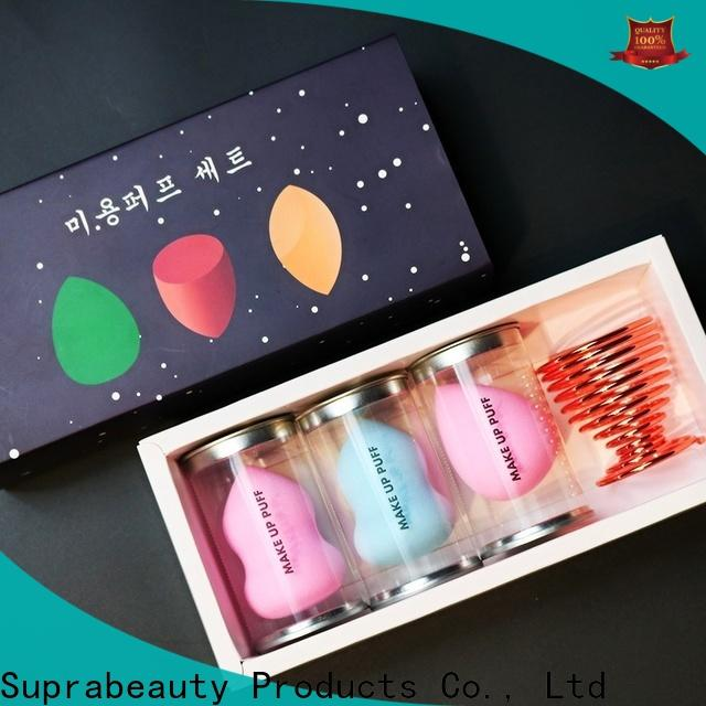 Suprabeauty durable makeup egg sponge from China for packaging
