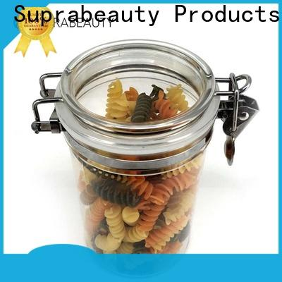 Suprabeauty plastic cosmetic jars directly sale for package
