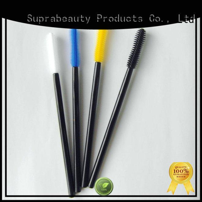 Silicone mascara brush curved mascara head Suprabeauty SPD6003