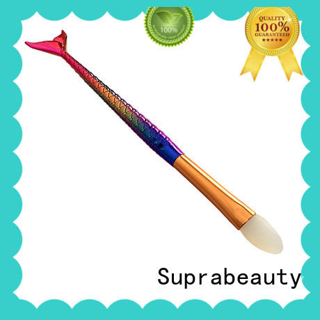 Suprabeauty spn cosmetic makeup brushes with eco friendly painting for loose powder