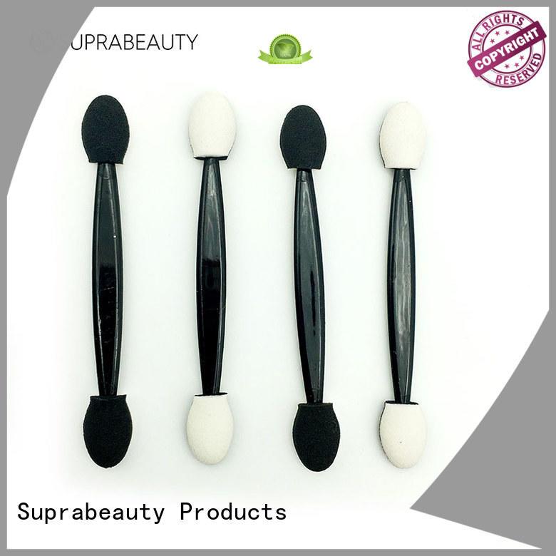 Suprabeauty spd disposable eyelash brush with bamboo handle for eyeshadow powder