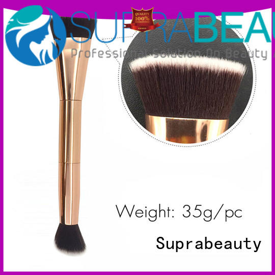Suprabeauty foundation full face makeup brushes with eco friendly painting