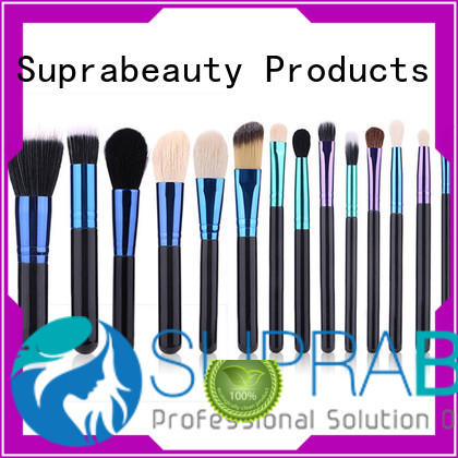 Suprabeauty synthetic good quality makeup brush sets for students
