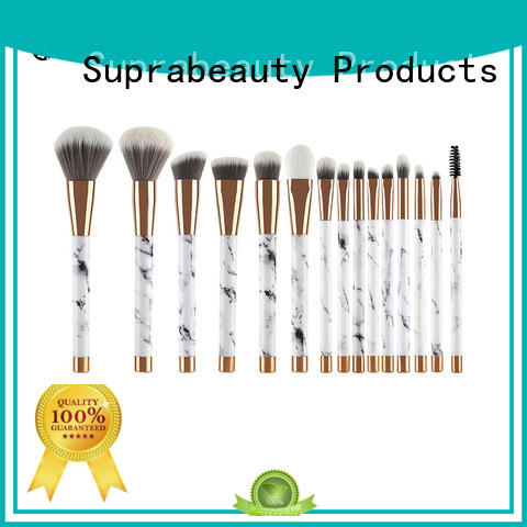 cruelty good quality makeup brush sets with curved synthetic hair for artists Suprabeauty