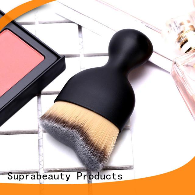 customized cream makeup brush best manufacturer bulk production