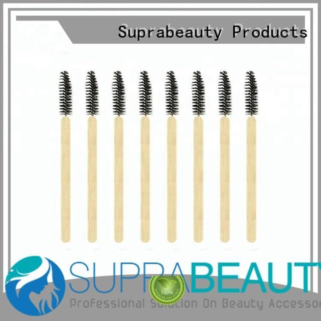 Suprabeauty eyeshadow lipstick makeup brush with bamboo handle for mascara cream