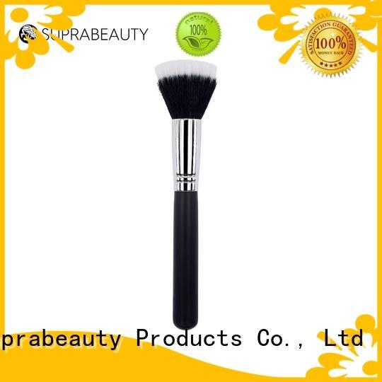 gold cosmetic powder brush manufacturer